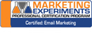 Marketing Experiments: Certified Email Marketing