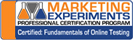 Marketing Experiments: Certified Fundamentals of Online Testing