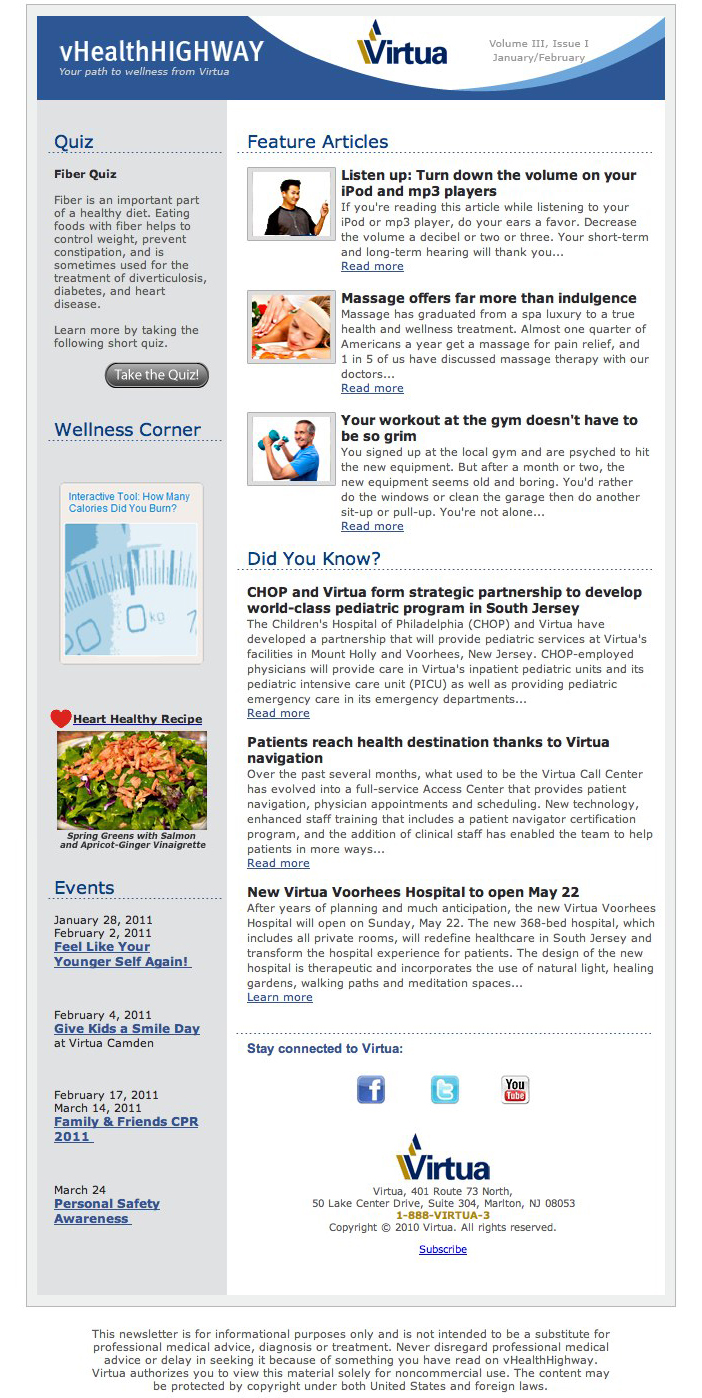 Main Story Sub Stories  Newsletter Design Inspiration