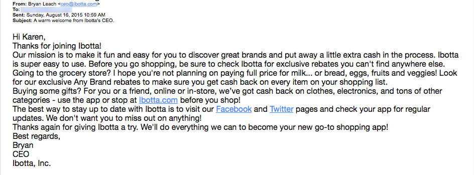 Get the Click - Ibotta_Email_Review
