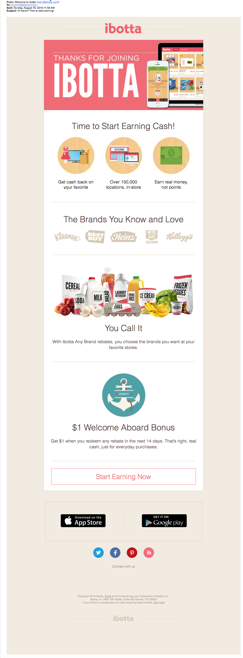 Ibotta Email Review: Does this welcome campaign fit the bill