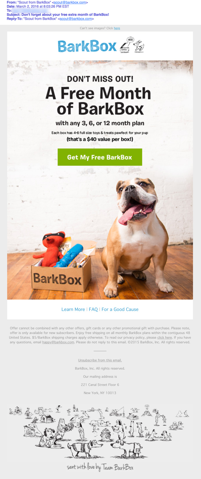 Get the Click - BarkBox_Email_3_Review